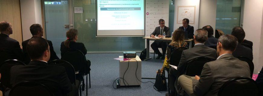 Las jornadas de APCE demuestran su utilidad para las empresas del sector