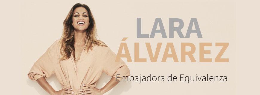 Lara Álvarez: Embajadora de la marca Equivalenza